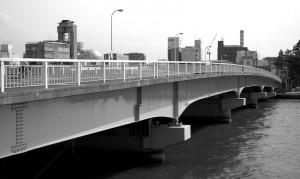 pont sur l'Ohashi-gawa, Matsue