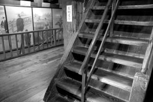 escalier et parquet, Matsue-jo