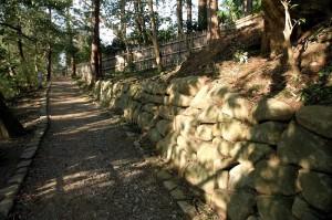 balade en sous-bois, parc de Matsue-jo