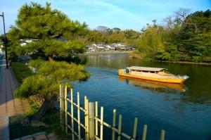 douve autour du château de Matsue