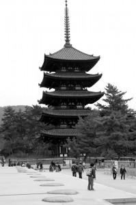 five storey pagoda, Kofuku-ji, Nara