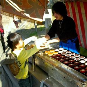 petites crepes a Osaka-jo