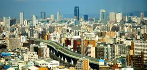 Osaka vu du 25e etage