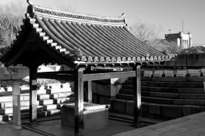 l'entrée du chateau d'Osaka