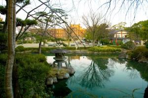 jardin d'Osaka-jo