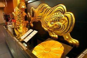 Ornements du chateau d'Osaka